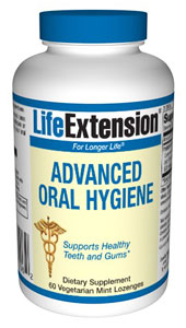 Advanced Oral Hygiene is a new oral probiotic that provides the beneficial bacteria that can help block harmful bacteria that first develop in the mouth..