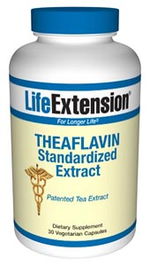Theaflavin Standardized Extract- An increasing number of scientists recognize the critical need to protect the arterial wall against low-density lipoprotein (LDL) oxidation and inflammatory insults..