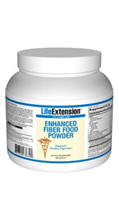 Enhanced Fiber Food Powder provides natural, bulk-producing soluble fiber. These fibers help maintain healthy bowel function and help maintain cholesterol levels that are already within the normal range..