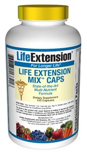 Life Extension Mix Caps-  Consumers take dietary supplements to obtain concentrated doses of some of the beneficial nutrients (such as folic acid) that are found in fruits and vegetables..
