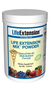 Life Extension Mix Powder without Copper- Consumers take dietary supplements to obtain concentrated doses of some of the beneficial nutrients (such as folic acid) that are found in fruits and vegetables..