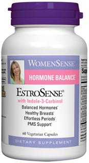 EstroSense is designed to support natural hormone balance for all female hormonal concerns..