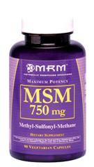 MSM is popularly studied for it's effects on joint health and mobility..