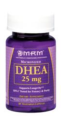 A naturally occurring substance produced by your body, DHEA is a precursor to your body's most powerful  hormone, testosterone, as well as a host of other hormones. DHEA and testosterone production drop precipitously as a body ages..