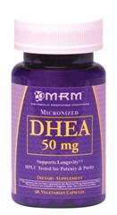50mg DHEA is recommended for older adults under doctor supervision to enhance testosterone production..