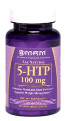 A naturally occurring amino acid, MRM's 5-HTP may help to overcome depression and better your night's sleep. 5 Hydroxytryptophan is a powerful mood enhancer, as suggested in clinical studies..