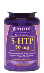 This 5-HTP capsule is a lower dose of the naturally occurring amino acid that may help to regulate appetite, alleviate depression and better your sleep..