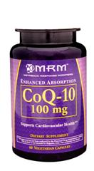 A powerful energy source and antioxidant for your heart, MRM's Coenzyme Q10 is a high quality production..
