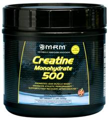 Day after muscle fatigue and soreness may help to be alleviated with supplemental Creatine Monohydrate from MRM. This helps to increase physical performance and endurance..