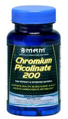 Chromium Picolinate research indicates that absorption of insulin by the muscles can be enhanced by using chromium picolinate, rather than chromium alone in chloride form. This has the potential for serious benefits of fat, protein and glucose metabolize, and chromium reports indicate increased lean muscle mass and decreased body fat during use..