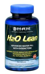 H20 Lean is MRM's way of helping you reduce unwanted water weigh by alleviating water retention. MRM H20 lean is a natural diuretic..