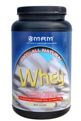 Vanilla Whey from MRM provides extra calories and protein that your muscles use for recovery and working out..