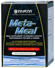 Meta Meal travels with you, but is a potent meal replacement to optimize nutrition and energy while training, on the road, in the office, or at home..