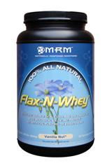 Flax n Whey has calories and essential fatty acids that help to reduce inflammation and aid strenuous workouts..