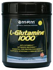 L-Glutamine from MRM is a great way to reduce the stress on your body from workouts or just everyday wear and tear on your muscles, brain and digestion..