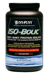 MRM's ISO-Bolic Whey Protein Isolate is designed for enhanced absorption, ready to be used by your muscles and body during intense, strenuous regimens..