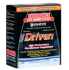 Pre-Workout MRM Driven are nutritious, individual packets that help maximize your full workout routine. Delicious Raspberry Tart Flavor!.