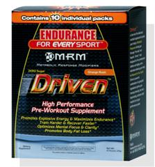 Individual MRM Driven packets for Pre-Workout satisfy your body's needs during intense physical exertion..