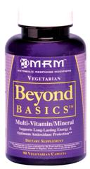 Multivitamin Beyond Basics from MRM is formulated for whole body performance..