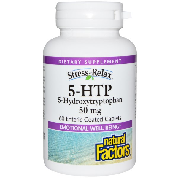 5-HTP, an amino acid essential to brain health, helps regulate and increase levels of serotonin within the brain..