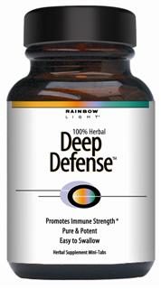 Deep Defense  1,100 mg hpe   Long-term herbal tonic for promoting natural immunity* .