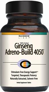 Ginseng Adreno-Build 4050 Stimulant-free, addrenal-building energy support system*.