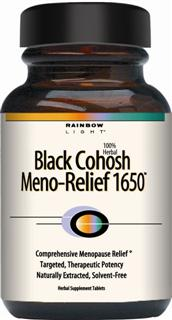 Black Cohosh Meno-Relief 1650  1,650 mg hpe