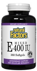 Vitamin E is a fat-soluble vitamin and antioxidant that protects cell membranes and prevents free radical damage, supporting the cardiovascular system and general health..