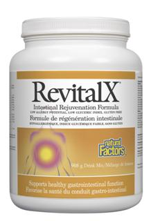 RevitalX is scientifically formulated to provide soothing nutritional support for people with food sensitivities as well as support for healthy digestion, the stomach, intestine and colon..