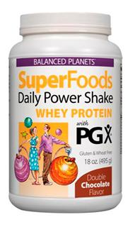 Whey Protein with PGX, an all natural plant complex from Konjac Root..