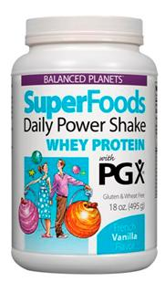Balanced Planets SuperFoods Daily Shakes with PGX, a nutritious start to energize your day!.