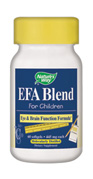 EFA Blend for Children and Kids (Attention Focus)  ( 60 softgel ).