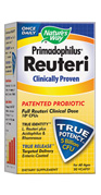 Reuteri promotes healthy digestion and intestinal integrity. Full Clinical Dose, L. Reuteri plus Acidophilus & Rhamnosus..