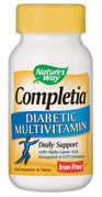 Specifically formulated for those with Diabetes, Daily Multivitamin and Mineral Supplement..