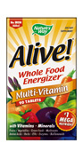 Alive! represents the new thinking in supplements for daily health and energy, with a greater diversity of specially balanced nutrients..