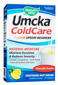 Umcka Cold Care Hot Drink by Nature's Way- shortens the duration of colds and speeds recovery!.