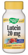 Lutein helps protect the retina from harmful ultraviolet (UV)light and free radicals..