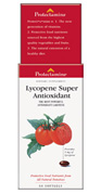 Lycopene is a potent antioxidant.