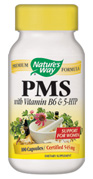Specific support for women, PMS with vitamin B6 and 5-HTP, includes natural herbs known for treating symptoms of PMS. Black Cohosh, Lobelia, Wild Yam, Dandelion..