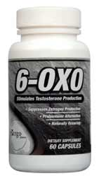 6 OXO by Ergopharm is an aromatase inhibitor that decreases estrogen levels and stimulates testosterone production..