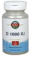 D 1000 IU (100 softgels).