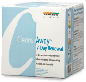 Cleanse Away 7-Day Renewal  3 easy steps to support gentle cleansing and rejuvenation in just 7 days.