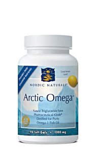 Distilled for purity, Arctic Omega 90 softgels.