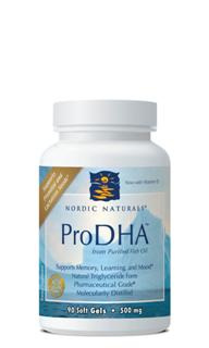 ProDHA is the way to ensure adequate intake of the essential brain nutrient, DHA. Supports Brain, Nervous System, and Visual Function.