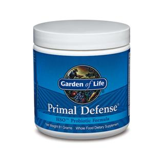 The HSO Probiotic Blend in Primal Defense helps support the normal gastrointestinal balance of good and potentially harmful bacteria to help maintain a balanced, healthy internal environment..