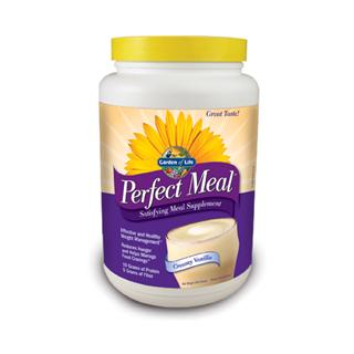 Perfect Meal is a delicious and satisfying high protein and high fiber dietary supplement, available in two great tasting natural flavors: creamy vanilla and milk chocolate. As part of a healthy diet and exercise program, Perfect Meal will help you successfully manage your weight by naturally curbing your appetite..
