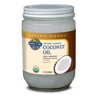 Extra Virgin Coconut Oil is a stable, healthy saturated fat that is naturally free from trans-fatty acids. It contains medium-chain fatty acids, such as lauric acid, which have a shorter chain length than most animal derived long-chain saturated fatty acids. Certified Organic by QAI.