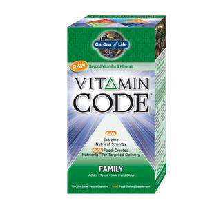 Vitamin Code Family Formula is a comprehensive multi-vitamin with RAW Food-Created Nutrients offering an extreme synergistic blend of vitamins and minerals for extraordinary health and vitality..