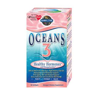 Oceans 3 Healthy Hormones supports hormonal and emotional health for women of all ages by providing all the benefits of a high potency Omega-3 supplement plus an amplified range of targeted benefits unmatched by ordinary Omega-3 formulations..