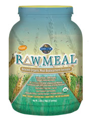 Garden of Life RAW Meal was formulated to be a meal replacement that satisfies hunger, is naturally filling and provides energy, all while providing the protein, fiber, vitamins and minerals that you would find in a healthy meal of raw foods. RAW Meal provides the nutrition of a well-balanced, healthy raw meal in one delicious serving..